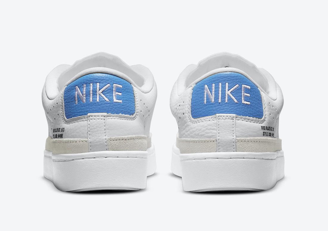 Nike Blazer Low X White Blue DN6995-101 Release Date Info