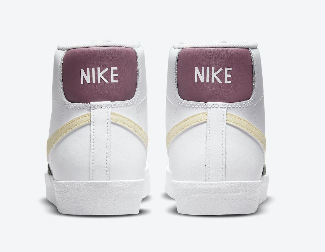 Nike Blazer Mid 77 Pink Lemon Green DN5052-100 Release Date Info