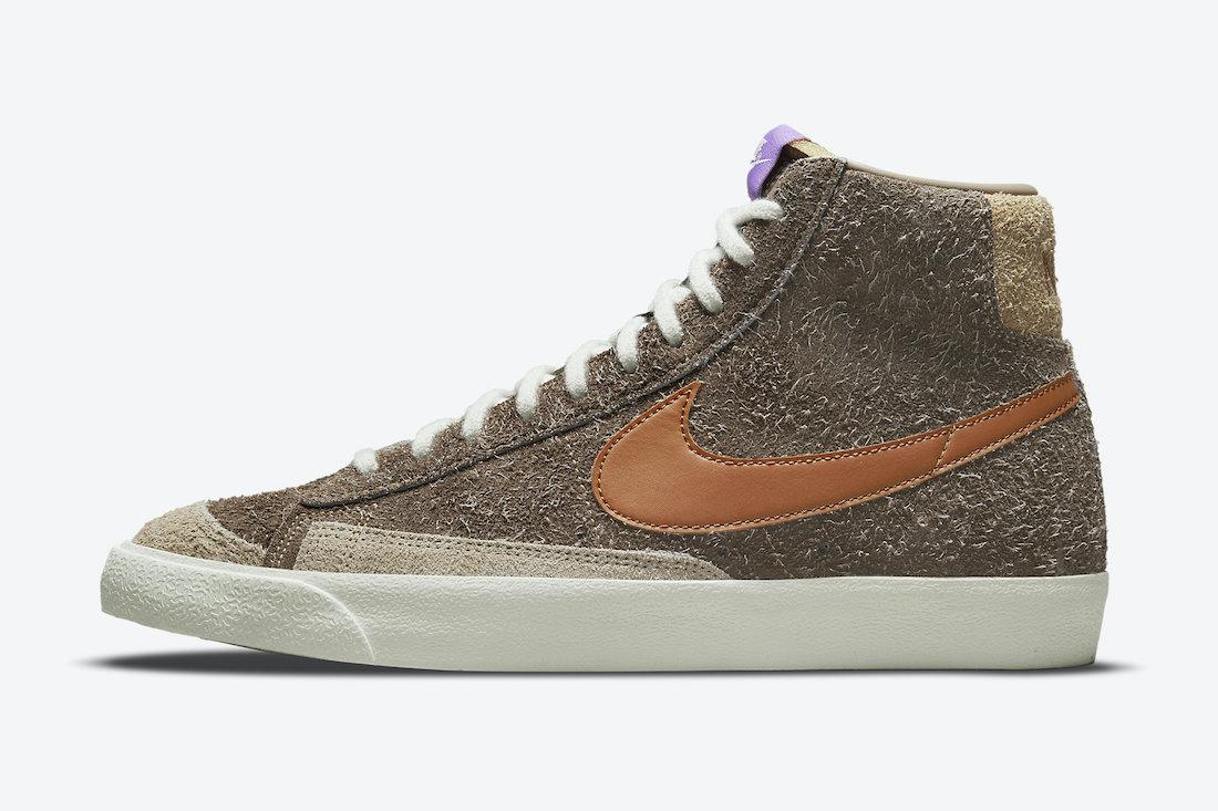 Nike Blazer Mid Shaggy Suede DM7581-200 Date de sortie Info