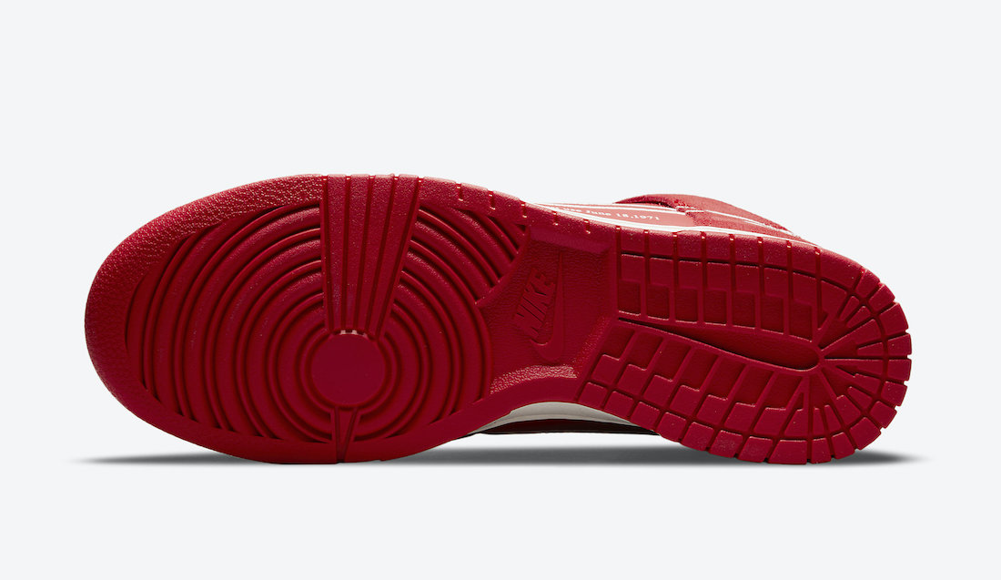 Nike Dunk High First Use University Red DH0960-600 Release Date