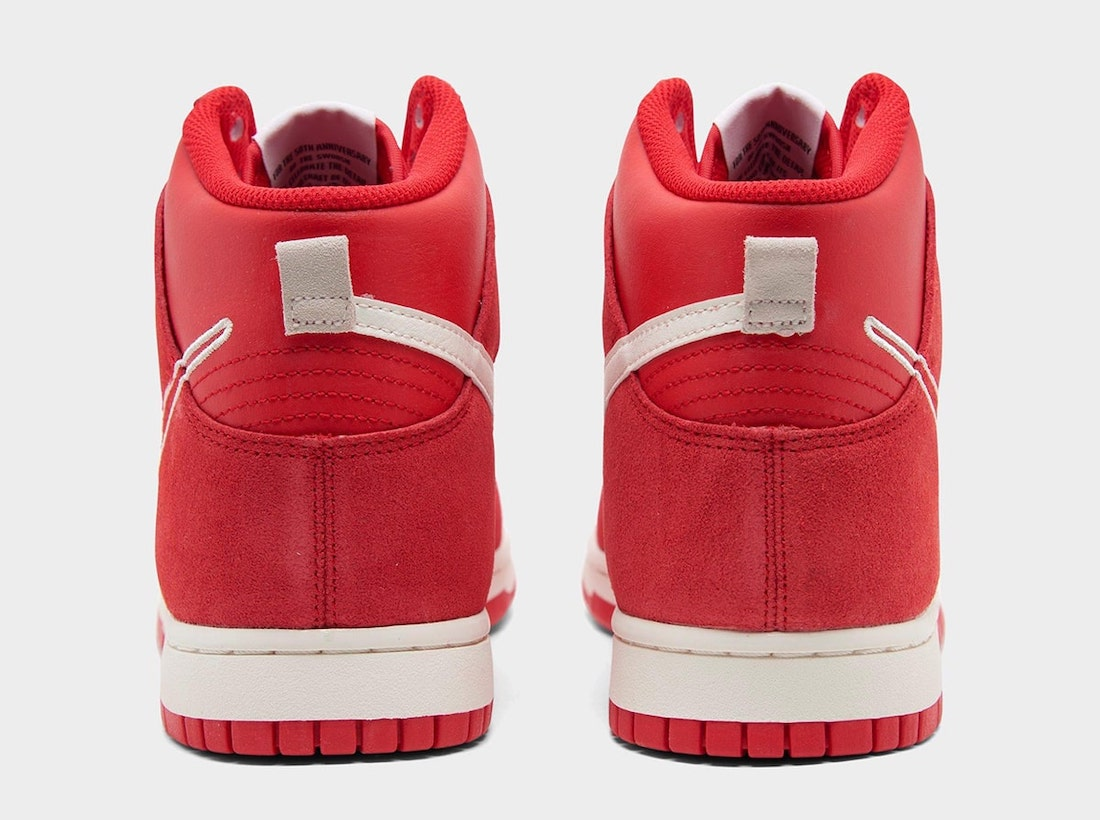 Nike Dunk High First Use University Red Sail DH0960-600 Release Date Info