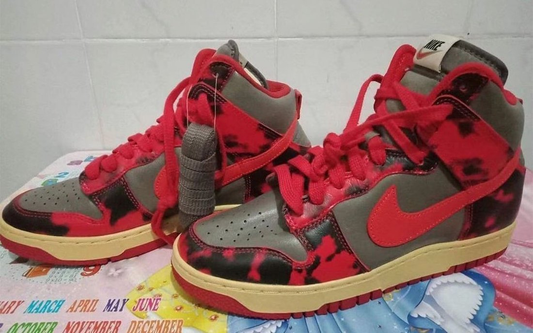 Nike Dunk High Red Camo Release Date Info