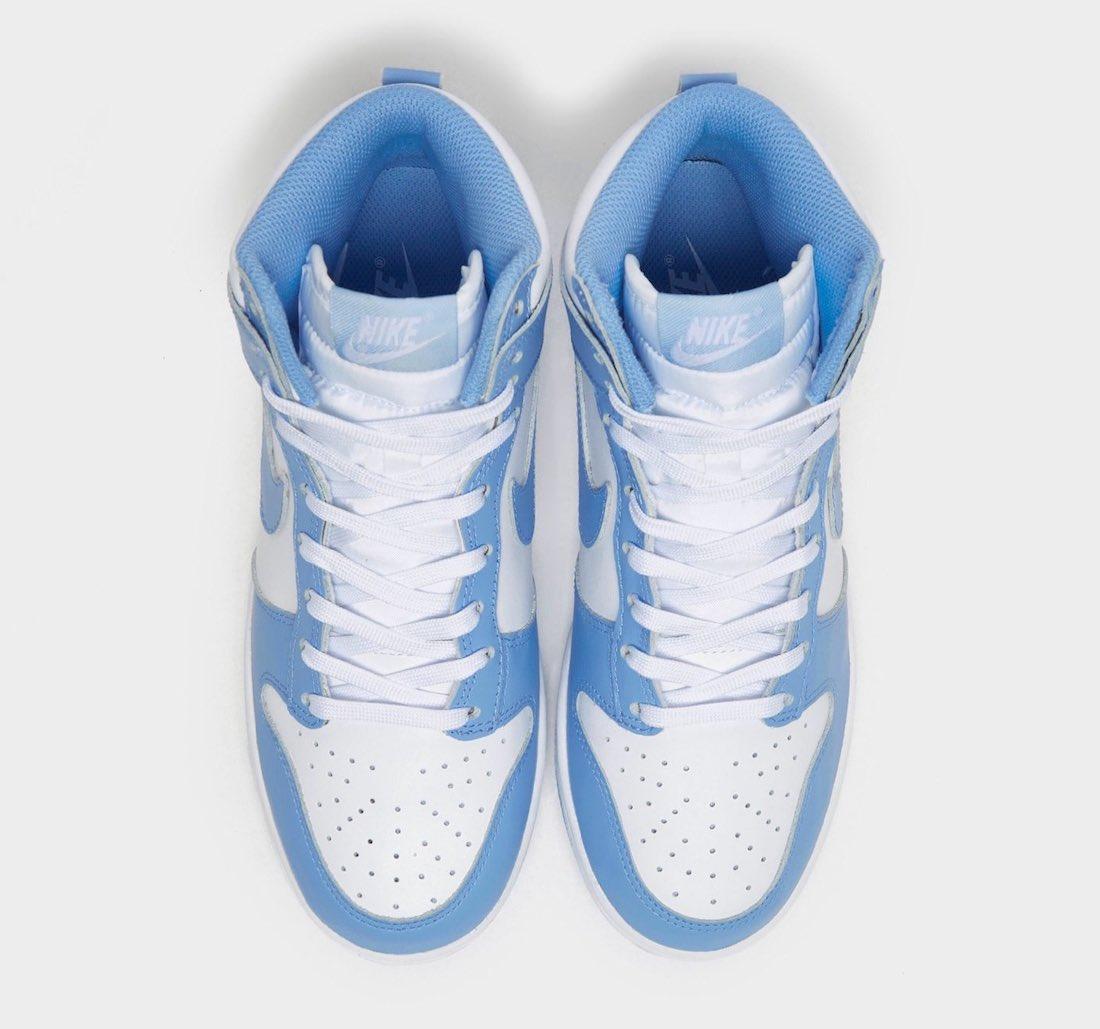 Informations sur la date de sortie de la Nike Dunk High University Blue