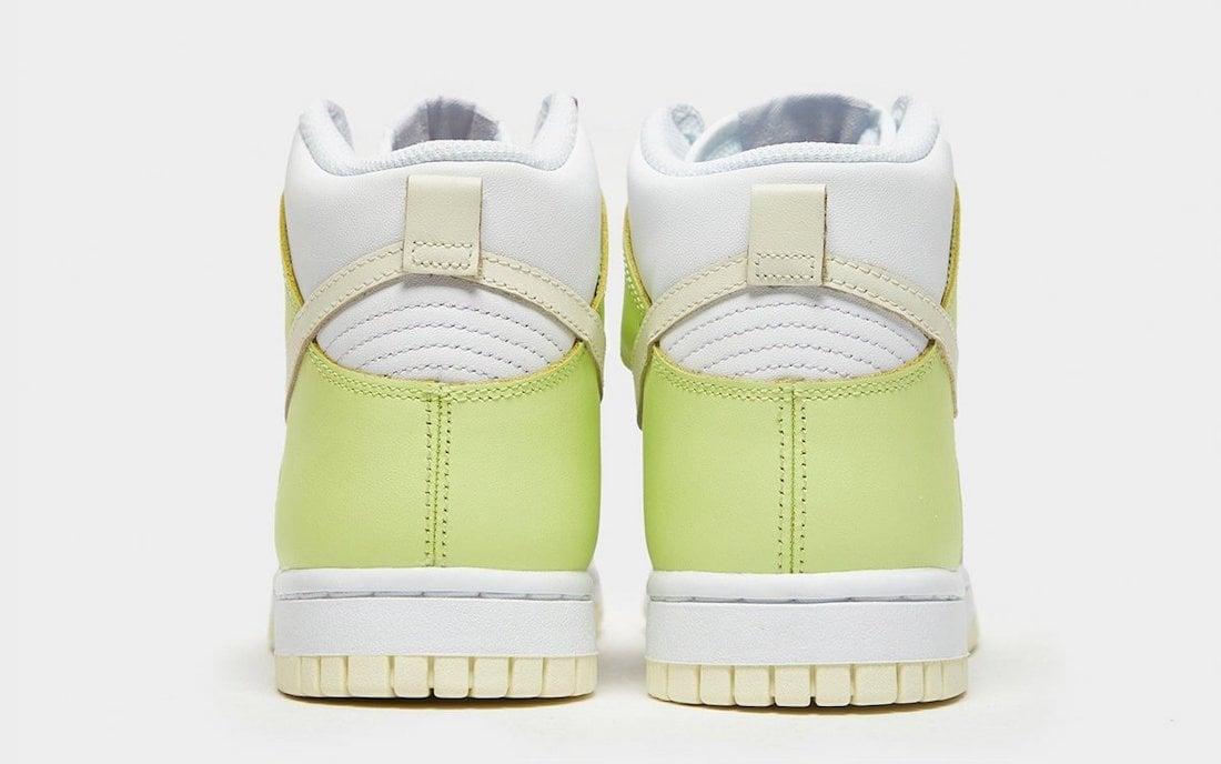Nike Dunk High White Cashmere Lemon Twist DD1869-108 Release Date Info