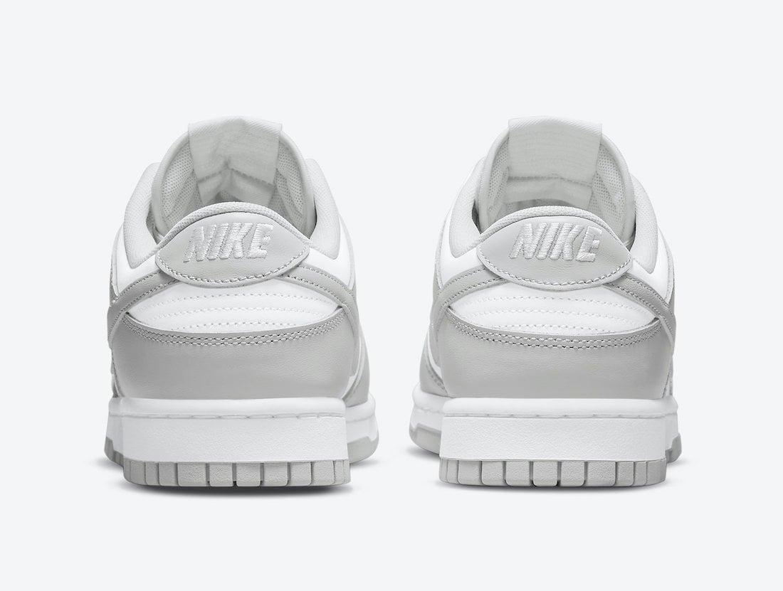 Nike Dunk Low Grey Fog DD1391-103 Release Date