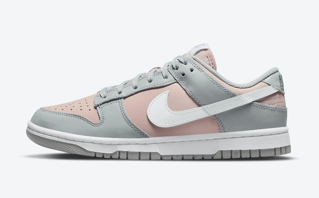 Nike Dunk Low Pink Grey DM8329-600 Release Date Info