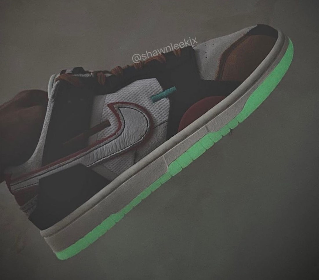 Nike Dunk Low Scrap Glow-in-the-Dark Release Date Info