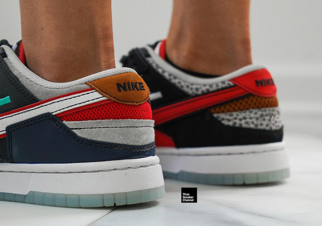 Nike Dunk Low Scrap Glow Safari Release Date