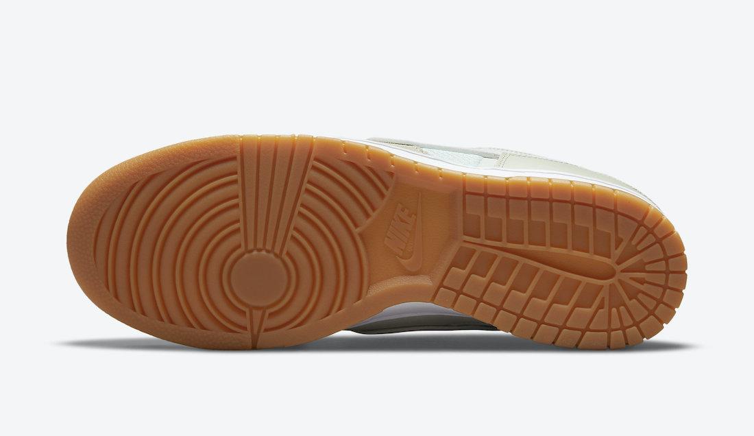 Nike Dunk Low Scrap Sail Sea Glass Seafoam DB0500-100 Release Date