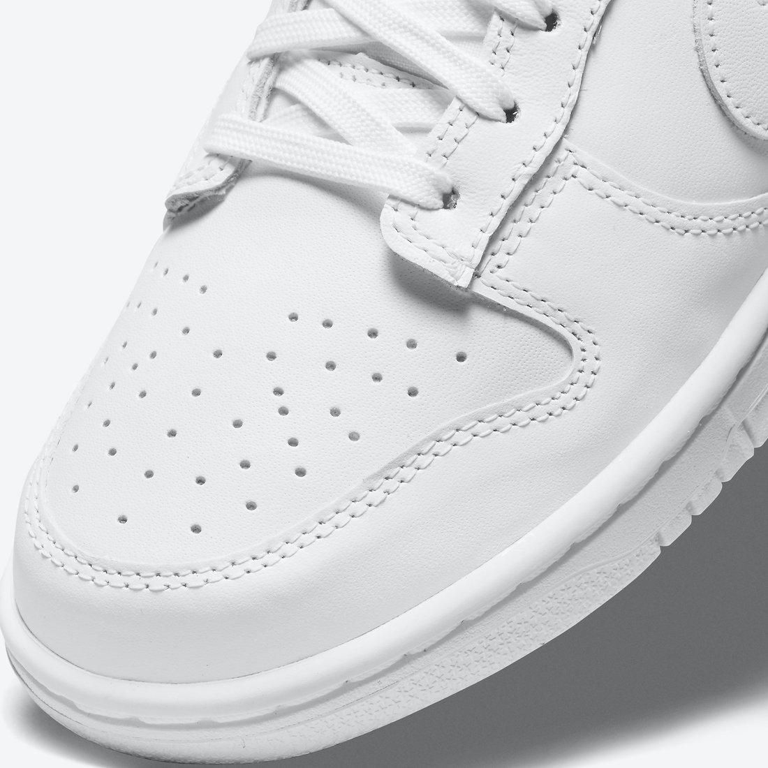 Nike Dunk Low Triple White DD1503-109 Release Date