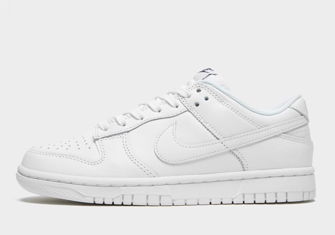 Nike Dunk Low Triple White Release Date Info