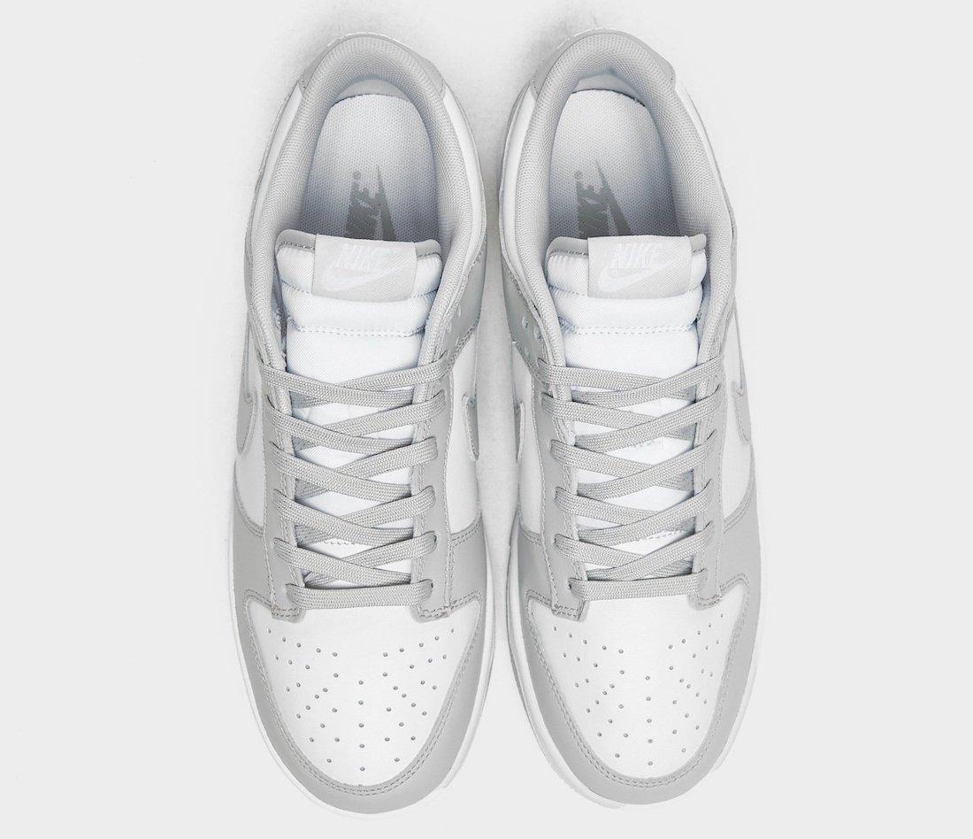 Nike Dunk Low White Grey Fog DD1391-103 Release Date Info