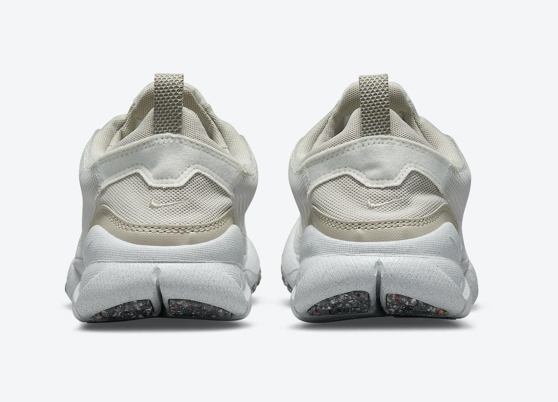 Nike Free Run Trail Crater White Orange Cream Cave Stone DC4456-100 Release Date Info