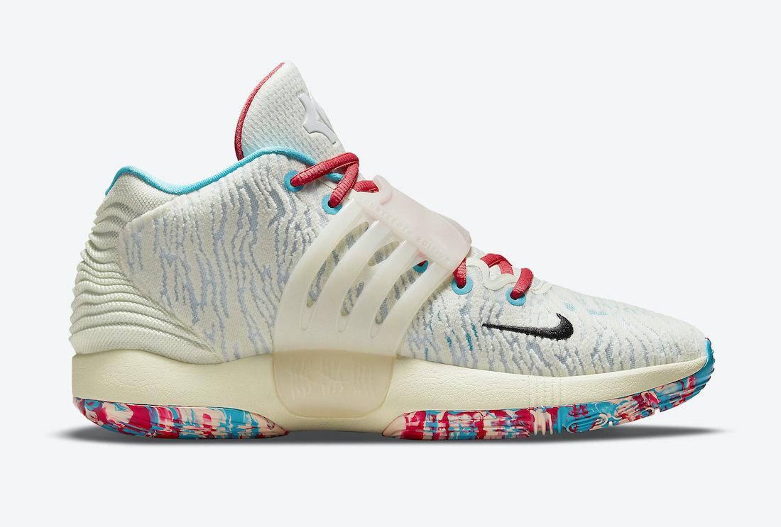 Nike KD 14 Aqua Red CZ0170-700 Release Date Info