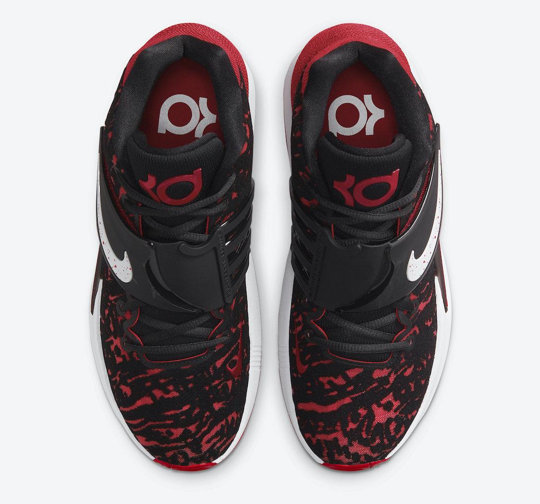 Nike KD 14 Bred Black Red CW3935-006 Release Date Info