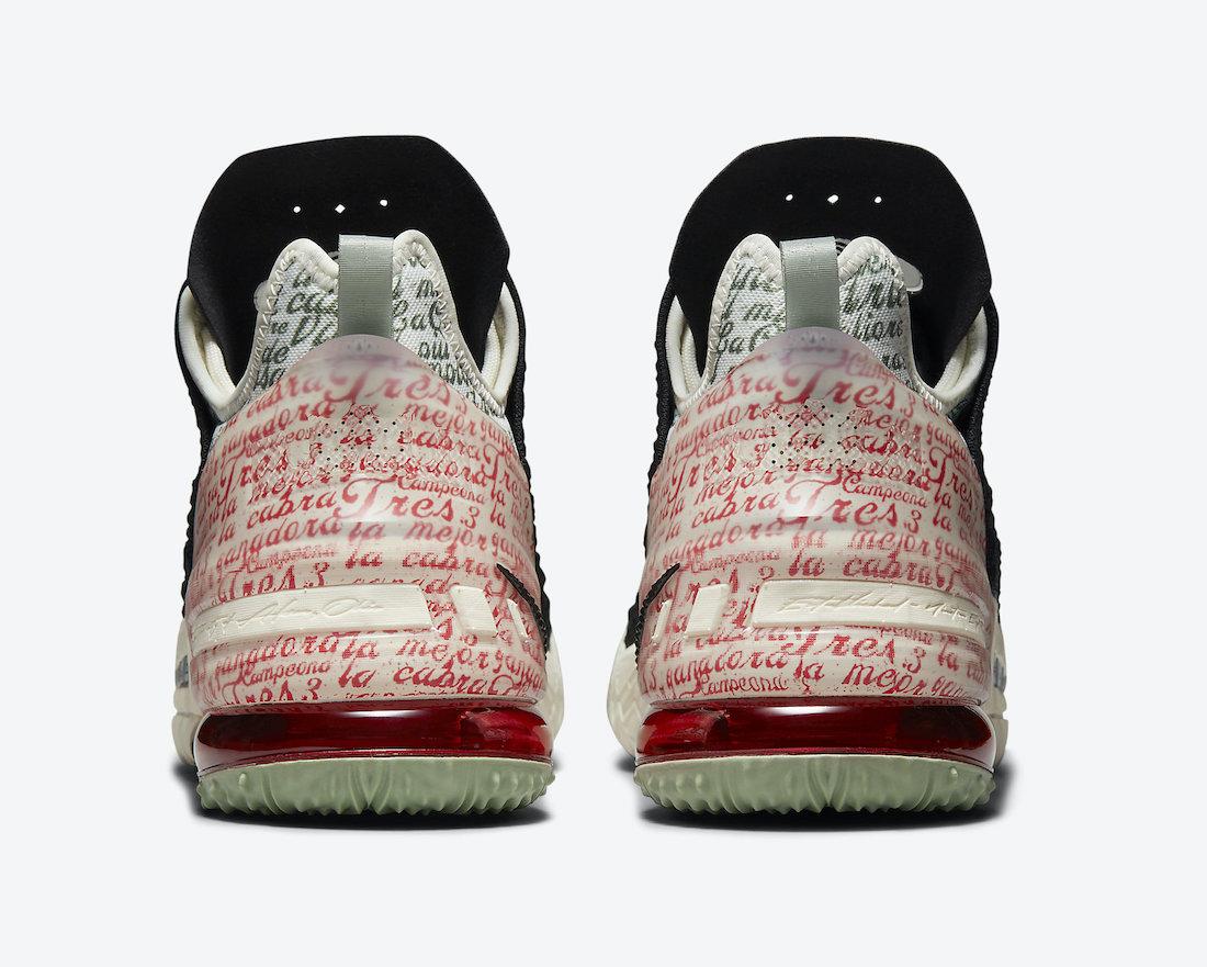 Nike LeBron 18 Goat CQ9283-008 Release Date Info