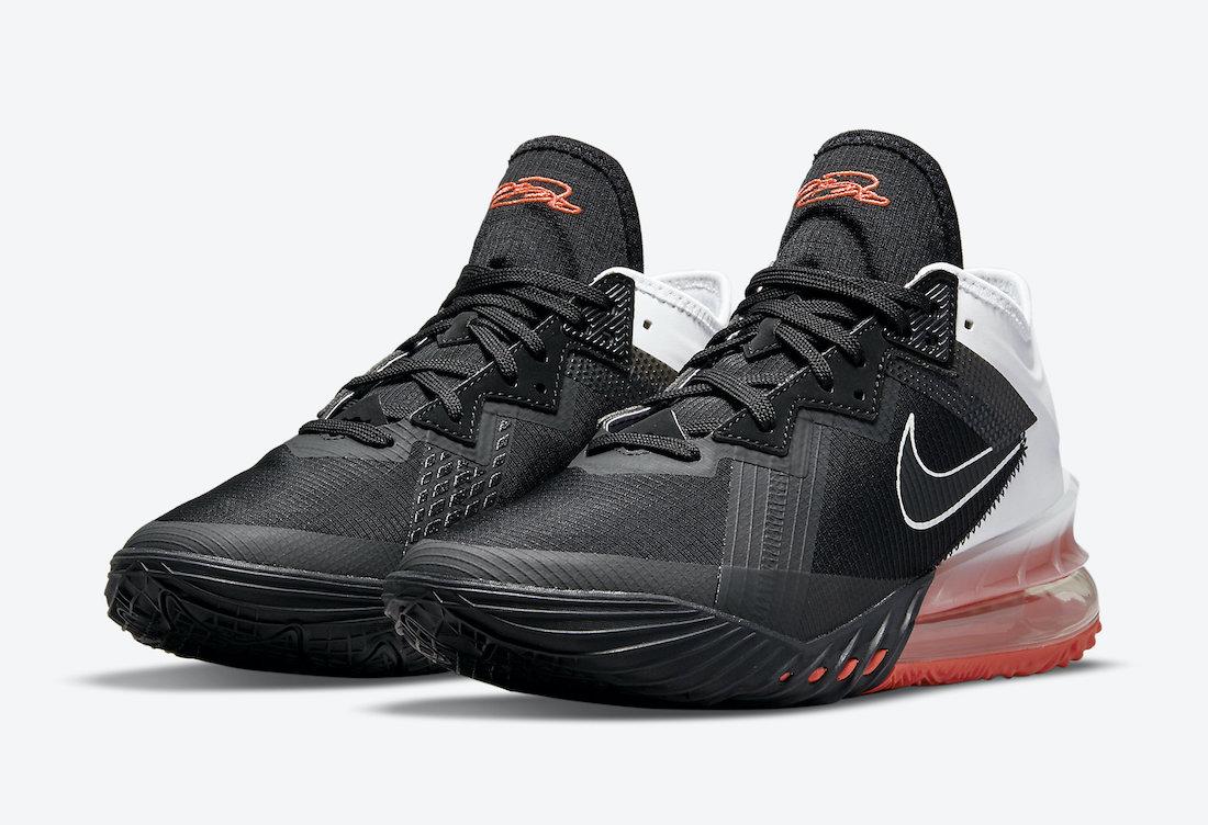 Nike LeBron 18 Low Heart of Lion CV7562-002 Release Date Info