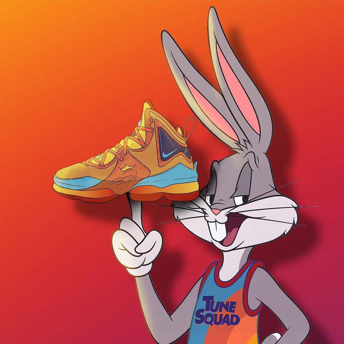 Nike LeBron 19 Space Jam Orange Release Date Info