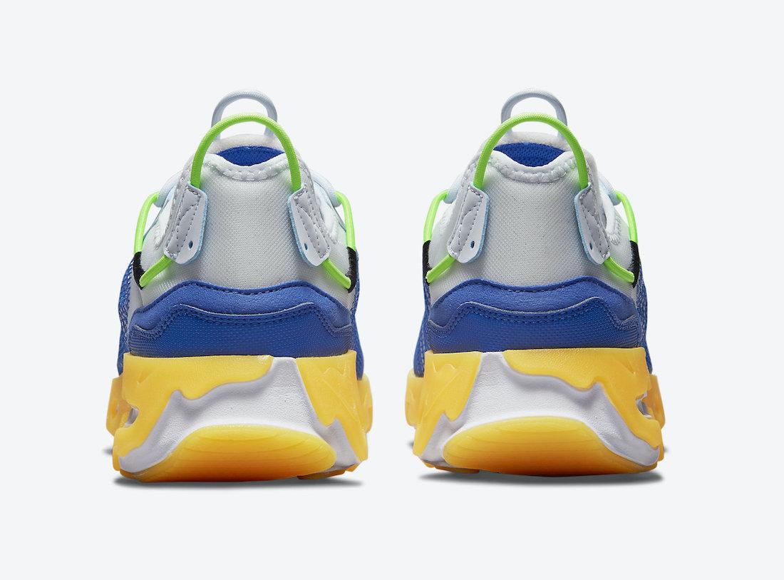 Nike React Live Premium Hyper Royal Laser Orange CZ9081-001 Release Date Info