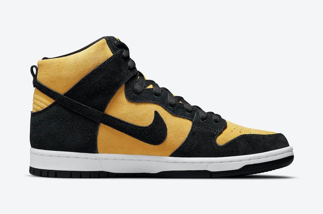 Nike SB Dunk High Reverse Iowa DB1640-001 Release Date Info