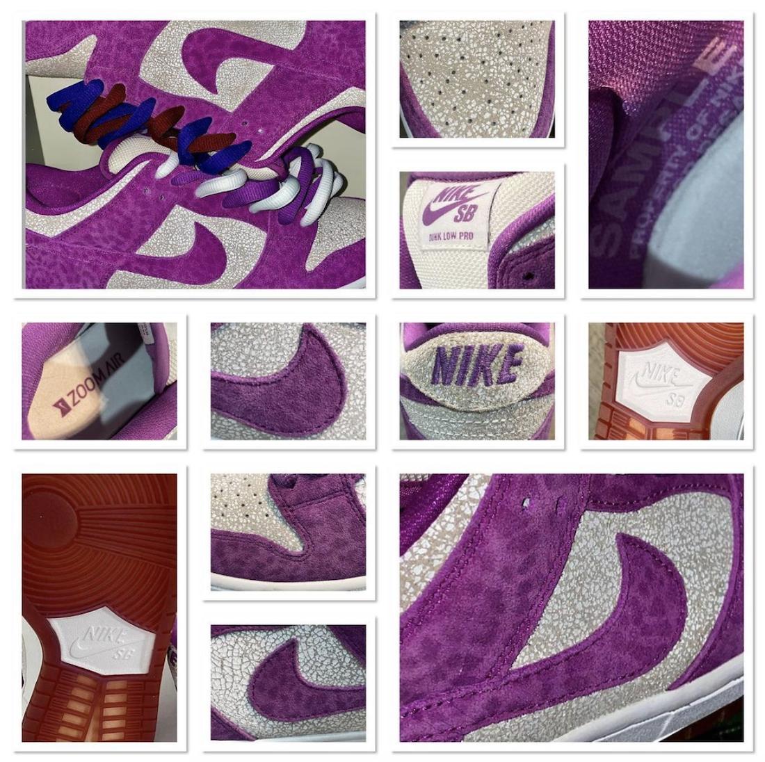 Nike SB Dunk Low Promethazine Codeine Sample