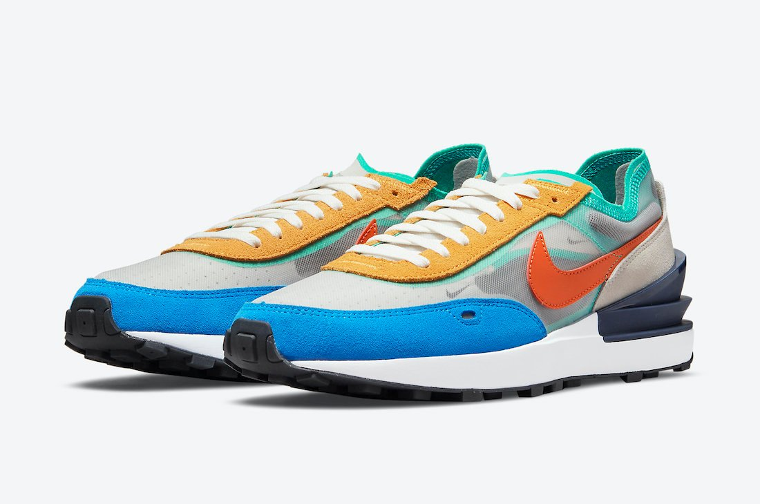 Nike Waffle One Multi-Color DN9253-001 Release Date Info