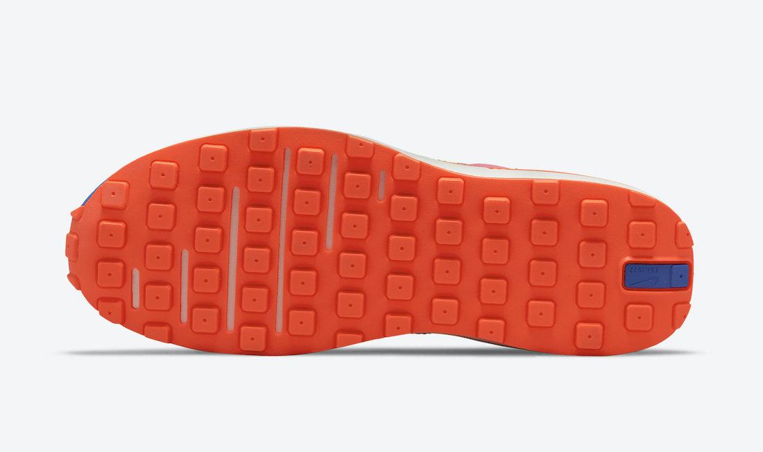 Nike Waffle One Pink Blue Orange Yellow DC2533-400 Release Date Info