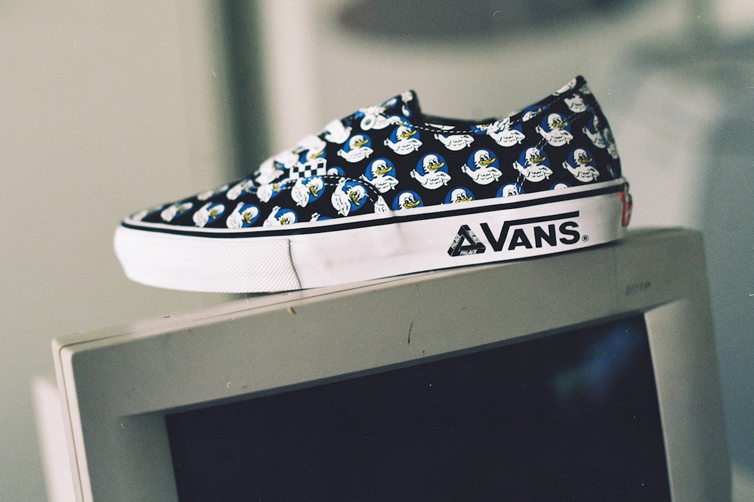 Palace Vans Authentic Release Date Info
