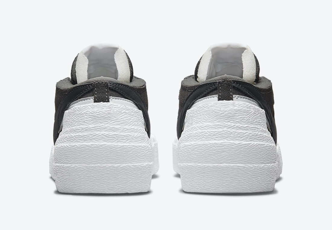 Sacai Nike Blazer Low Iron Grey DD1877-002 Release Date