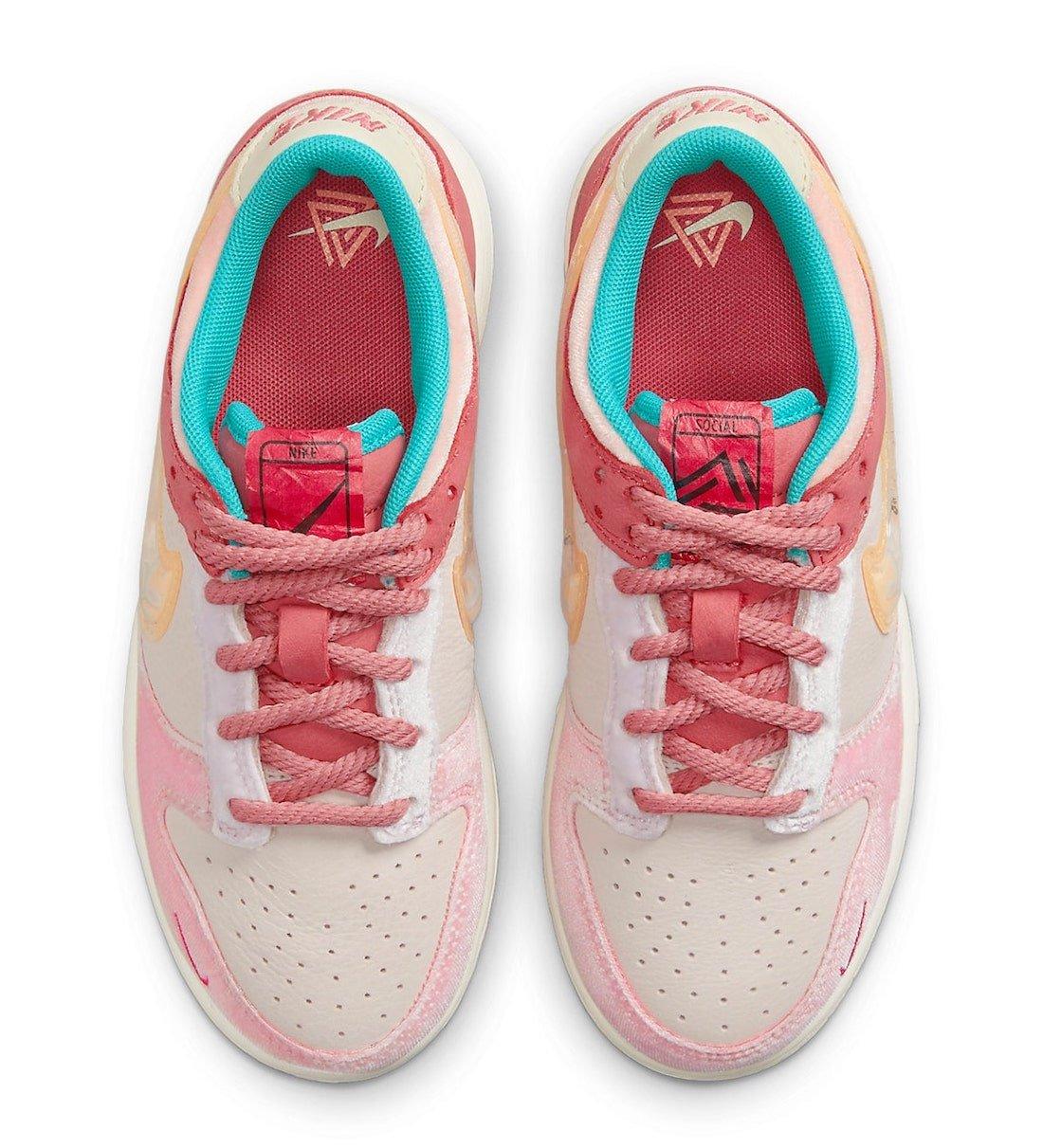 Social Status Nike Dunk Low DM3349-600 Release Date Info