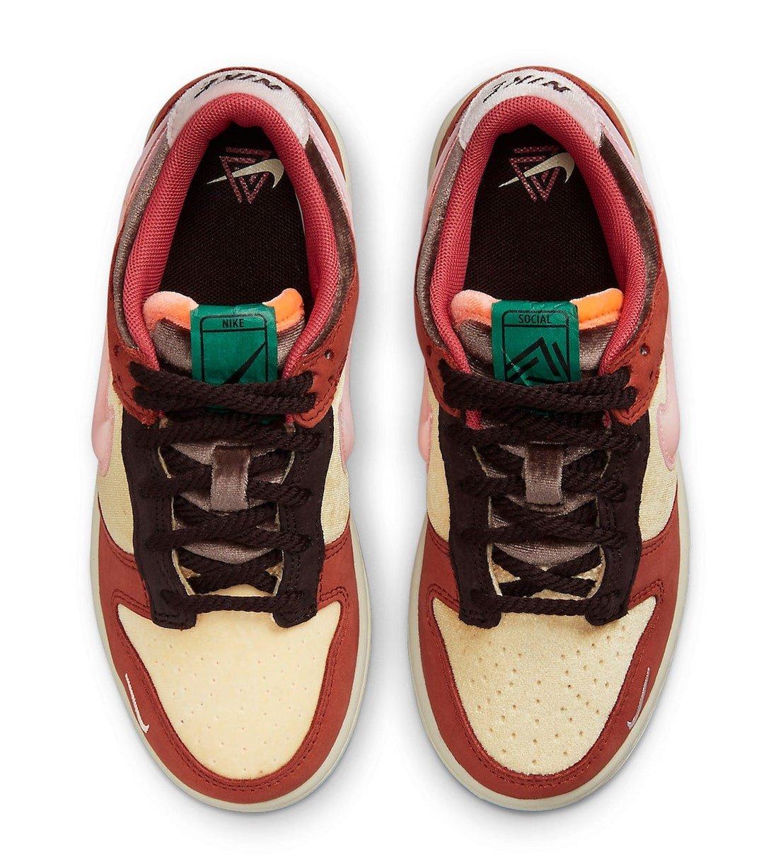 Social Status Nike Dunk Low DM3349-700 Release Date Info