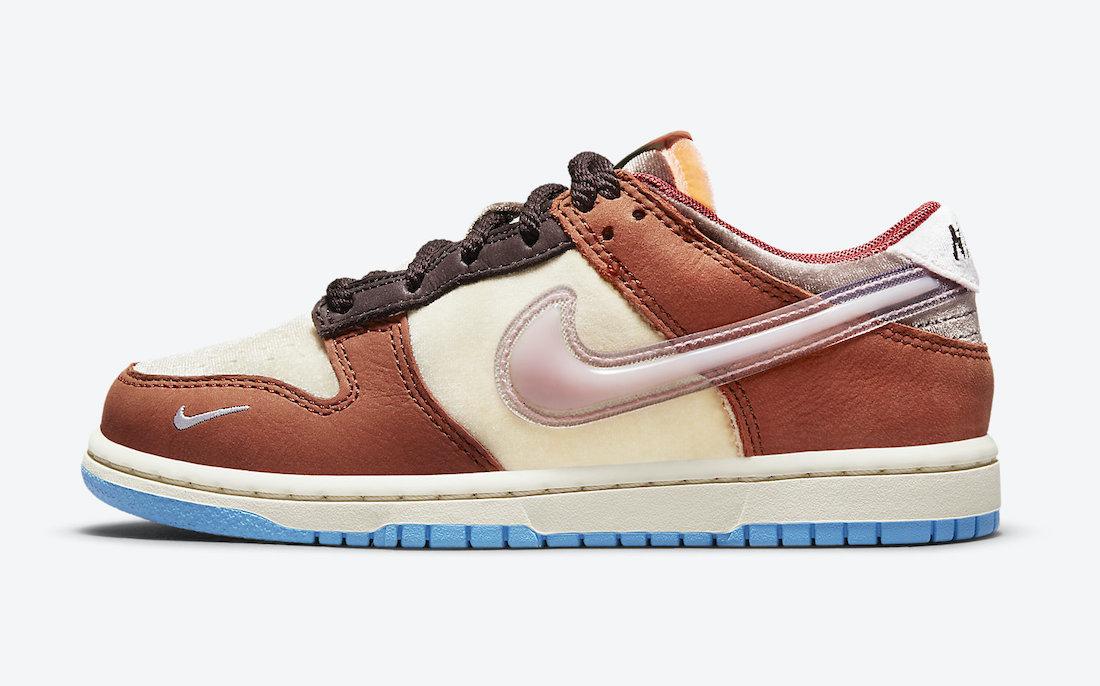 Social Status Nike Dunk Low Burnt Brown DM3349-700