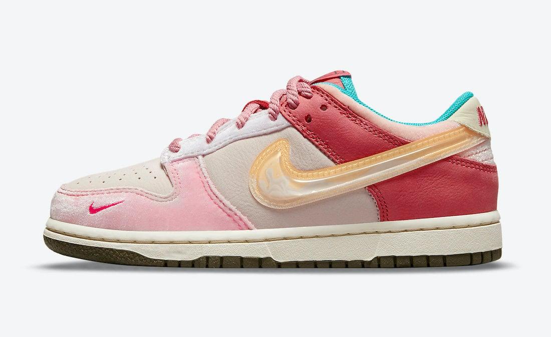 Social Status Nike Dunk Low Pink Glaze DM3349-600