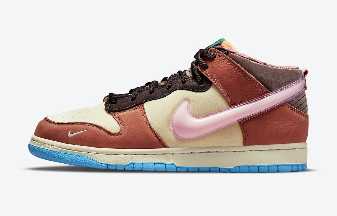 Social Status Nike Dunk Mid Burnt Brown DJ1173-700