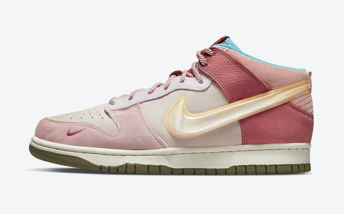 Social Status Nike Dunk Mid Pink Glaze DJ1173-600