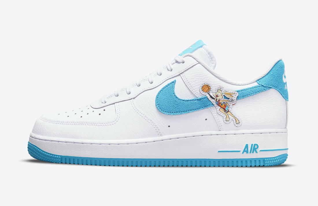 Space Jam Nike Air Force 1 Low Toon Squad DJ7998-100 Release Date