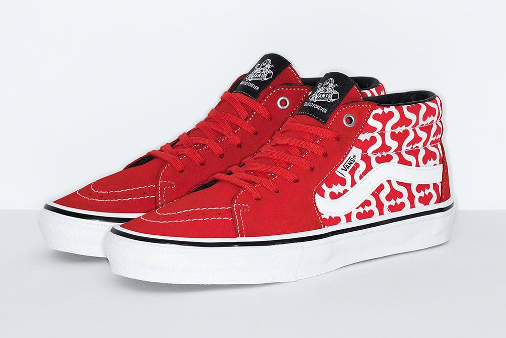 Supreme Vans Skate Grosso Mid Release Date Info