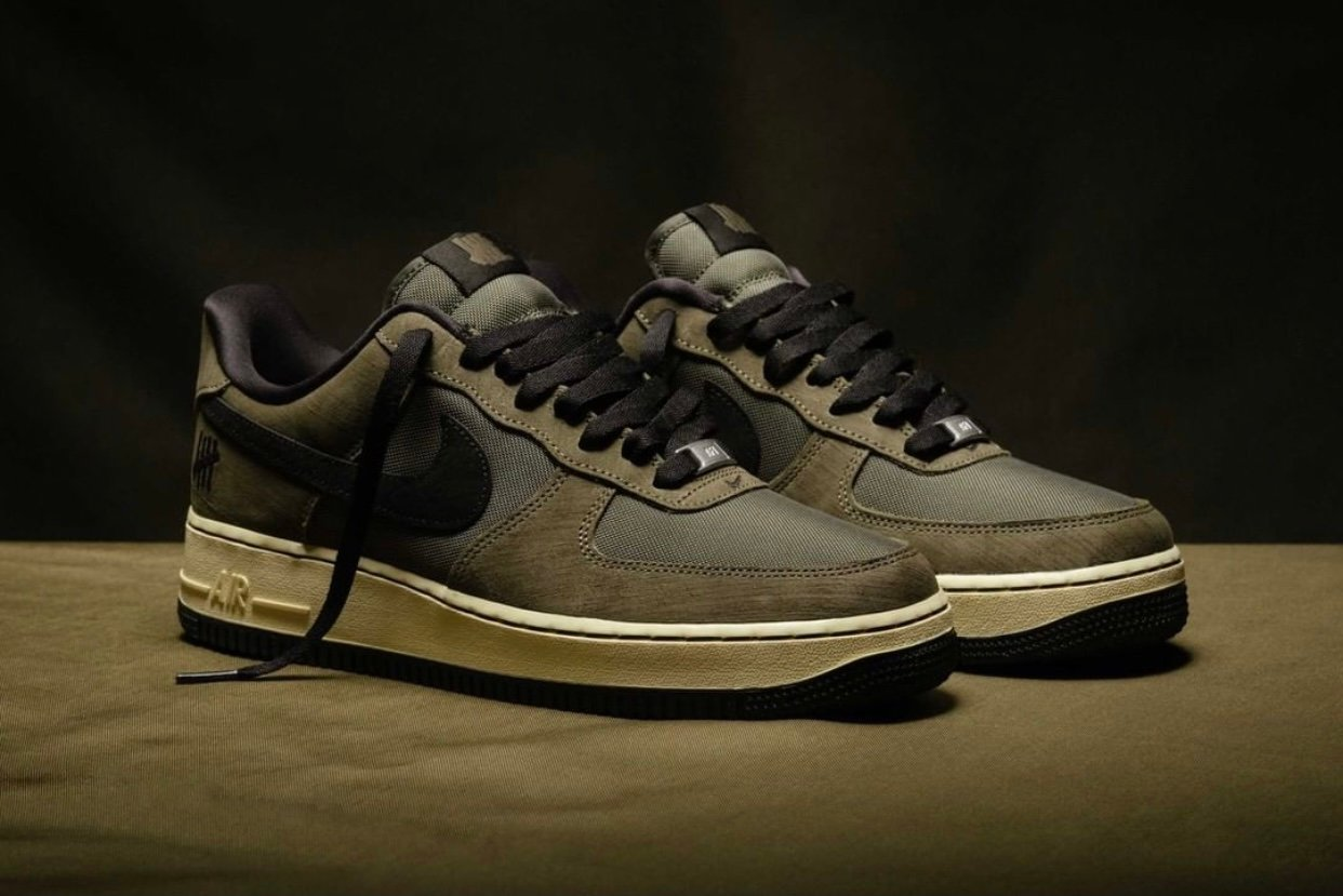 Undefeated Nike Air Force 1 Low Dunk vs AF1 Release Date