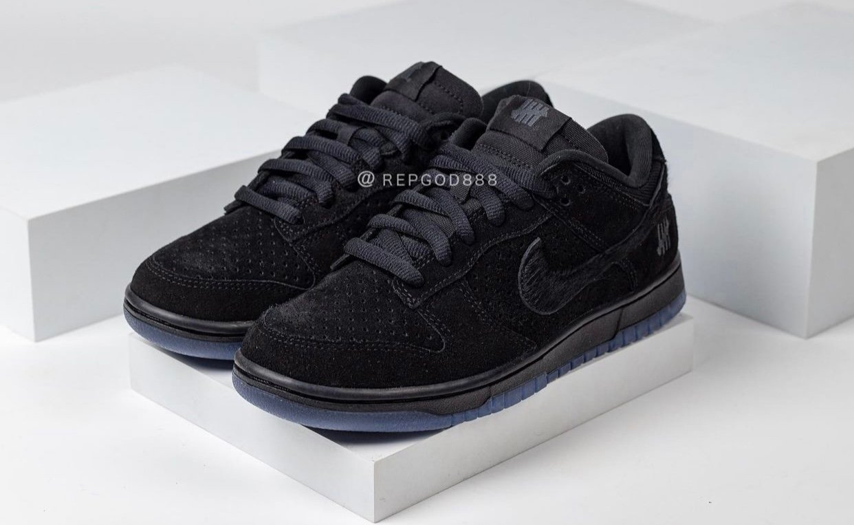 Undefeated Nike Dunk Low Black DO9329-001 Release Date