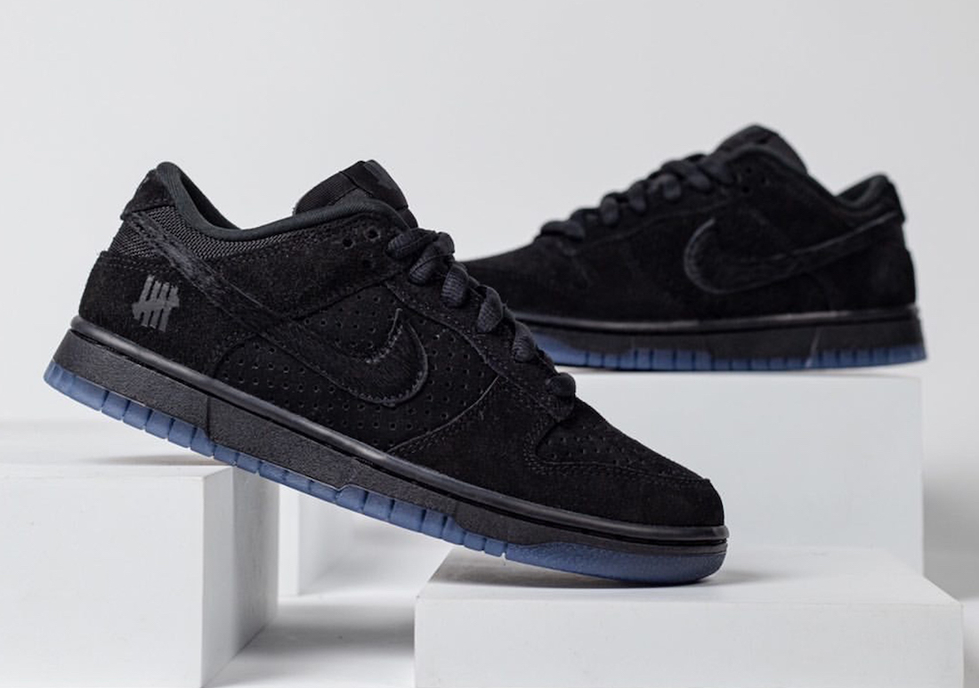 Undefeated Nike Dunk Low Black DO9329-001 Release