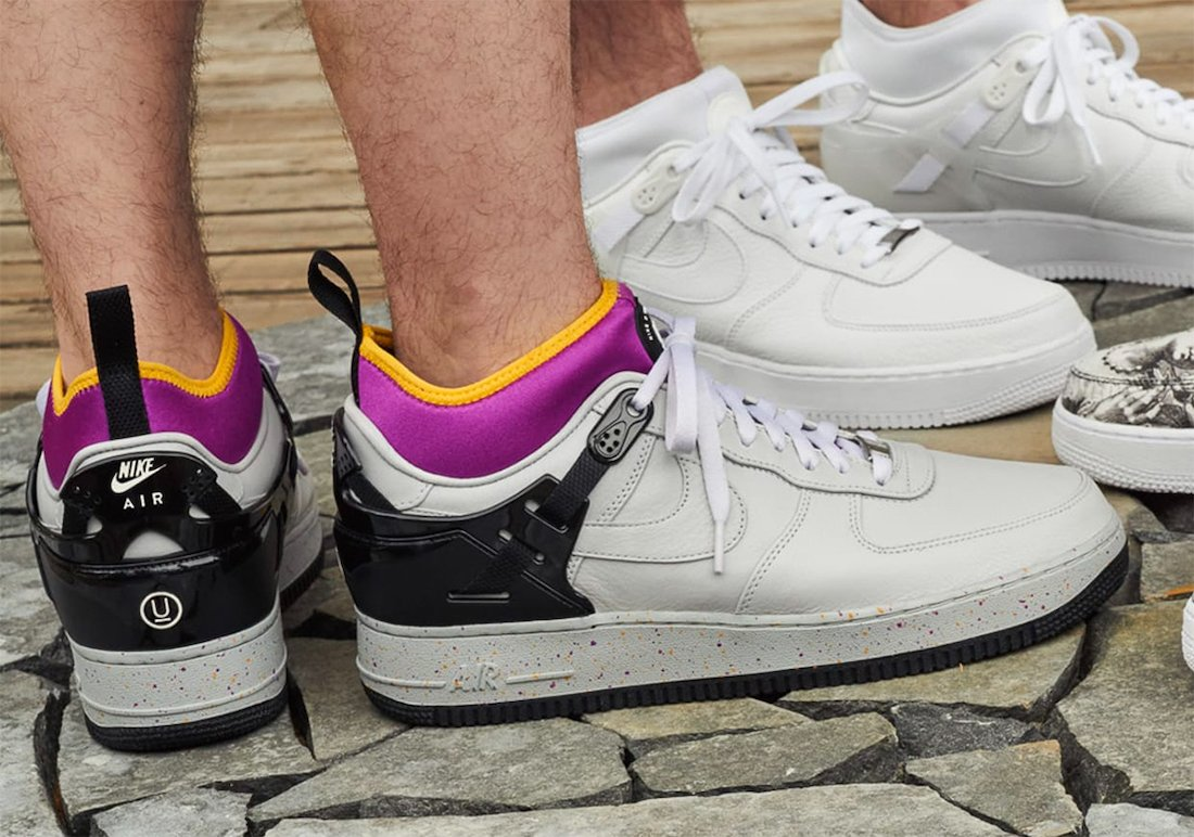 Undercover Nike Air Force 1 Low Release Date Info