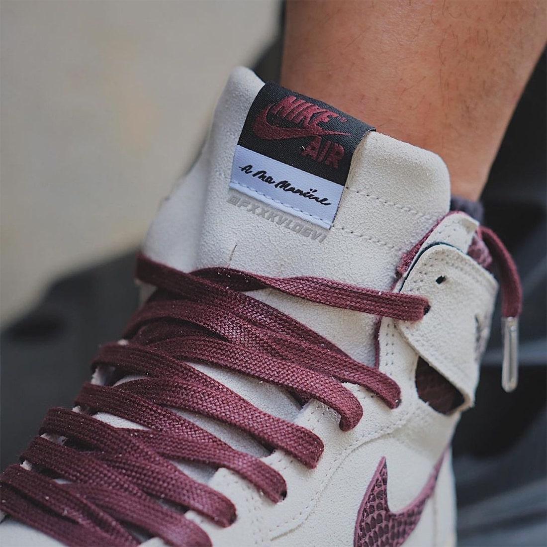 A Ma Maniere Air Jordan 1 Release Date Info