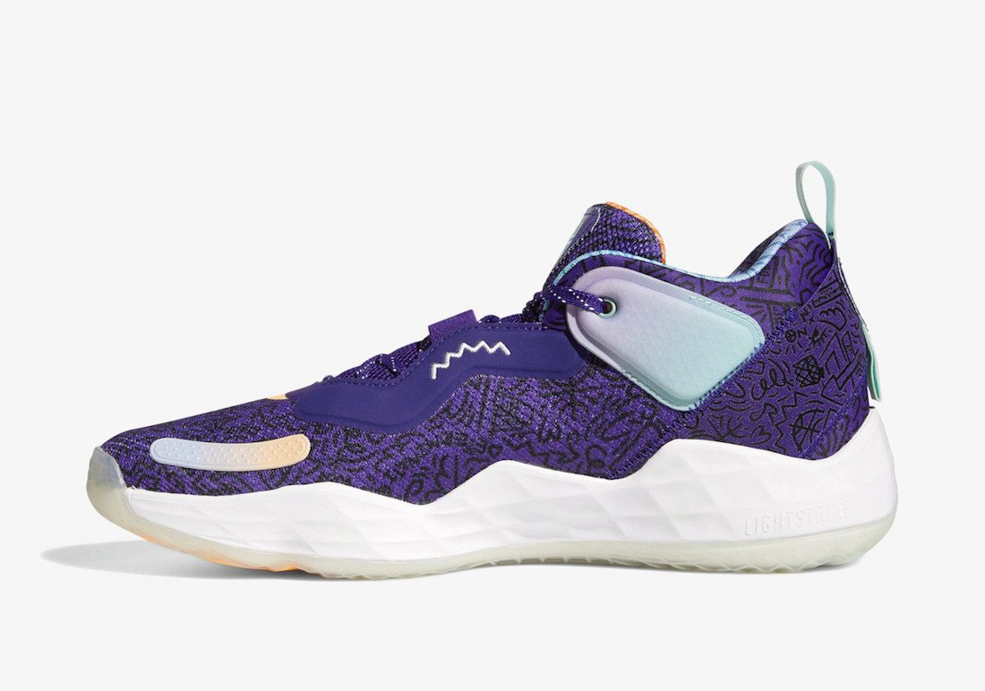 adidas DON Issue 3 Jazz H68046 Release Date Info