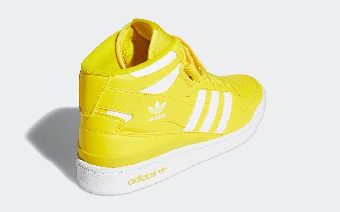 adidas Forum Mid Canary Yellow GY5791 Release Date Info