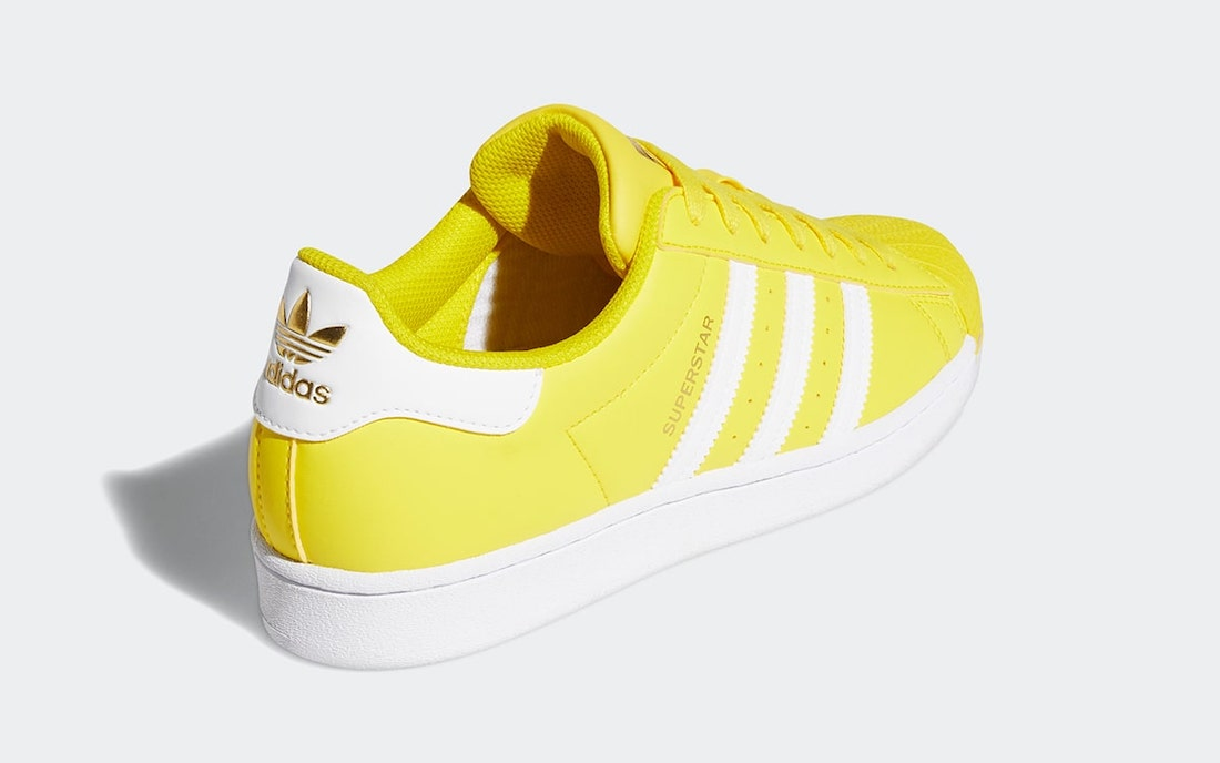 adidas Superstar Yellow White Gold GY5795 Release Date Info