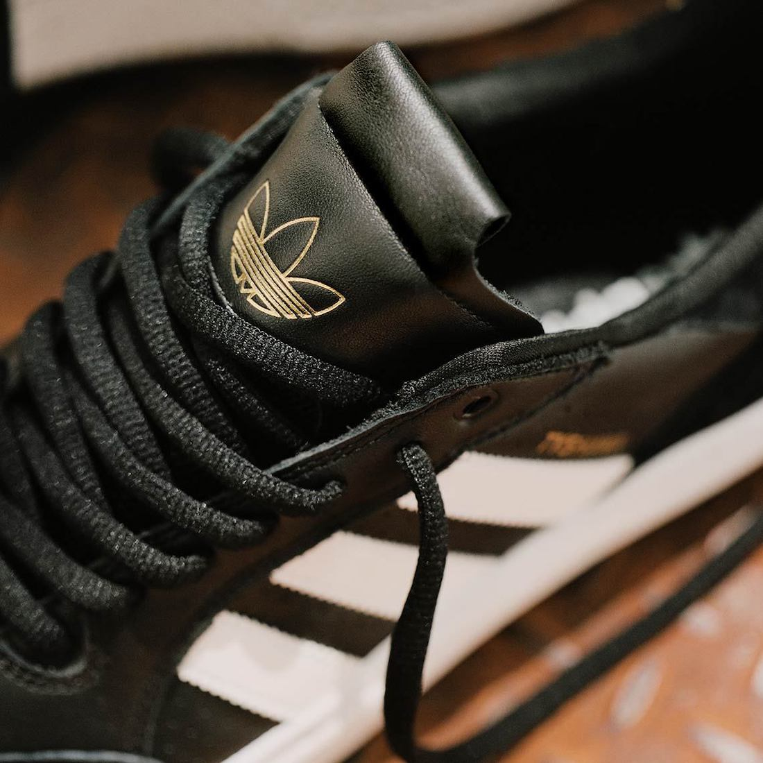 adidas Tyshawn Low Black White Gold GW4891 Release Date Info