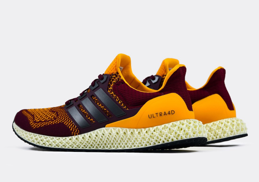 adidas Ultra 4D Arizona State FY3960 Release Date Info