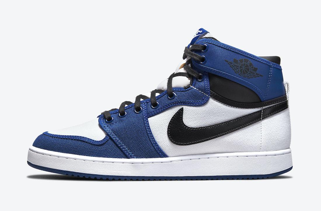 Air Jordan 1 KO Storm Blue DO5047-401 Release Date
