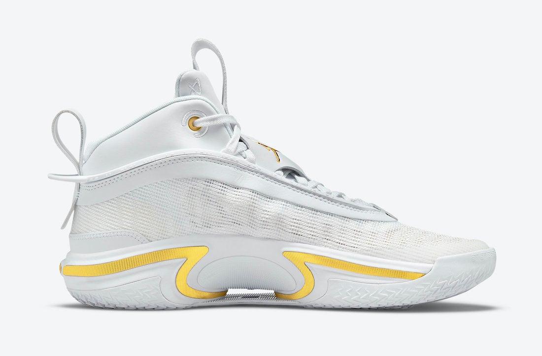 Air Jordan 36 White Gold DJ4482-100 Release Date Info