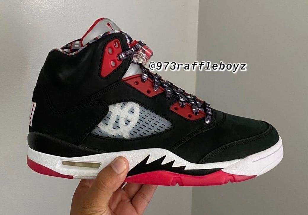 Air Jordan 5 Quai 54 Friends Family